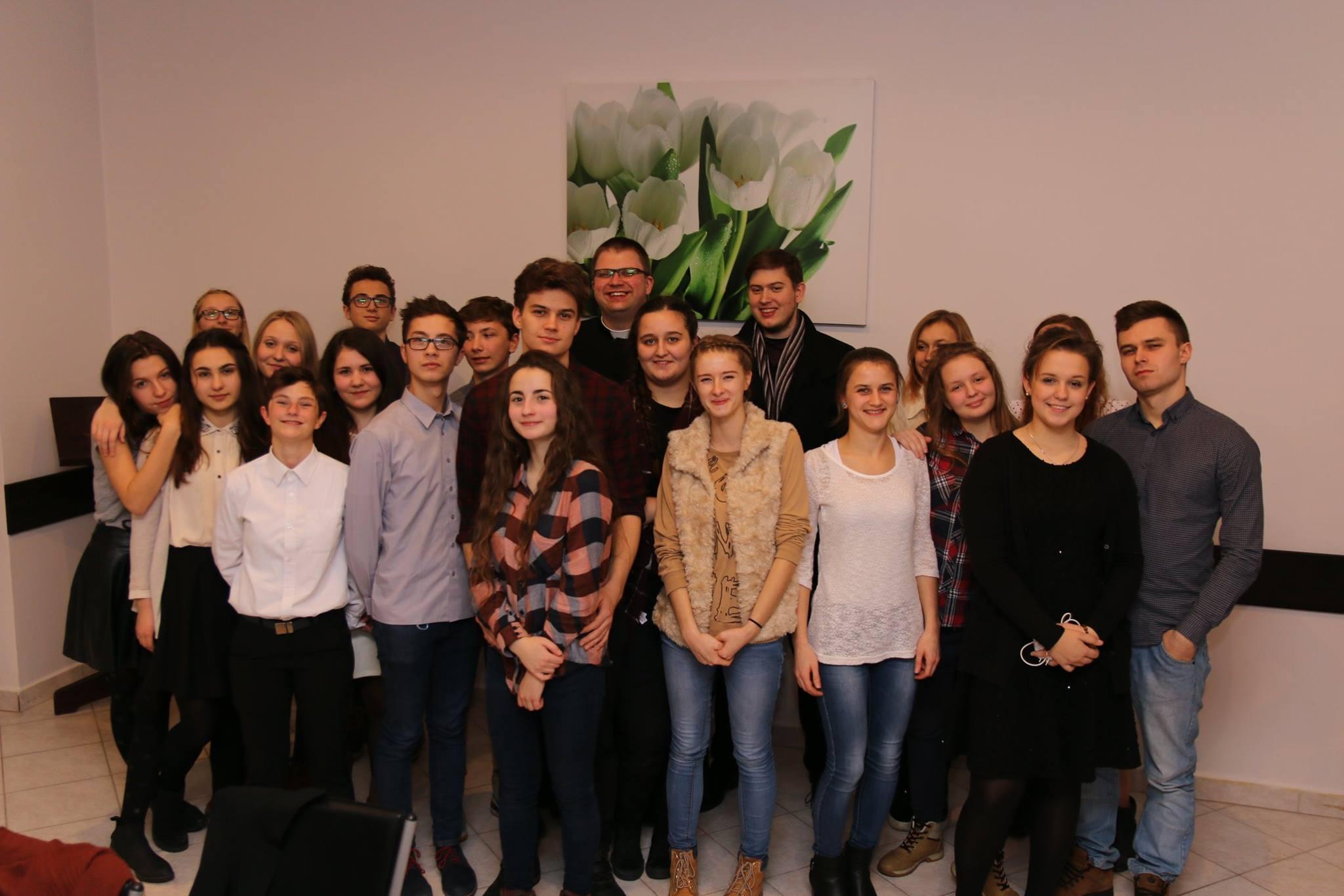 Spotkanie wigilijne Duszpasterstwa Młodych