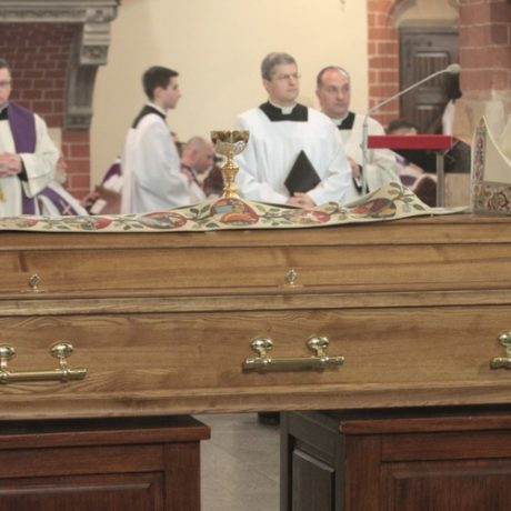 Pogrzeb Biskupa Tadeusza Rybaka