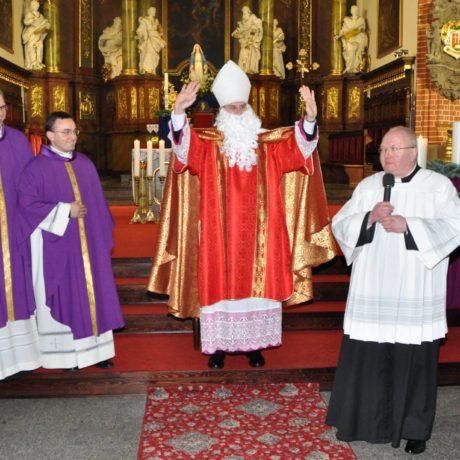 Odwiedziny świętego biskupa Mikołaja