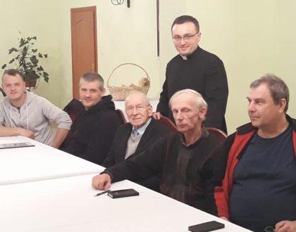 Spotkanie nadzwyczajnych szafarzy Komunii świętej