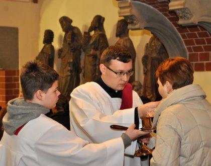 Diakon Mateusz Wyspiański - nasz praktykant
