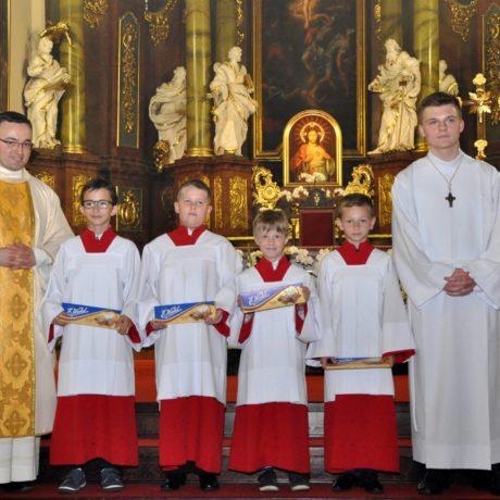 Błogosławieństwo nowych ministrantów