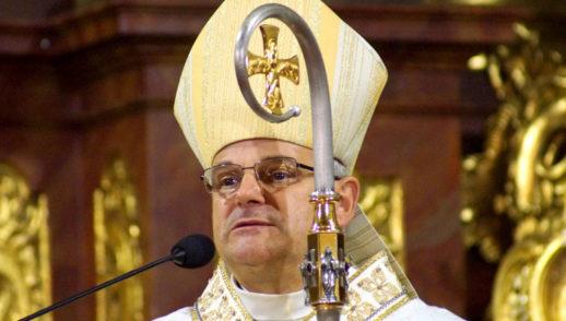 Przywitanie figury św. Michała Archanioła z Gargano