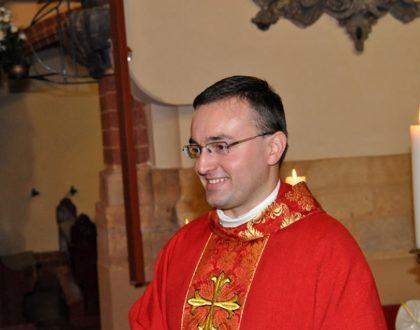 Biskup Legnicki mianował ks. Mateusza odpowiedzialnym za Służbę Liturgiczną