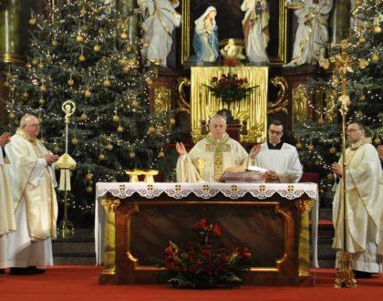 Pasterka z Biskupem Legnickim