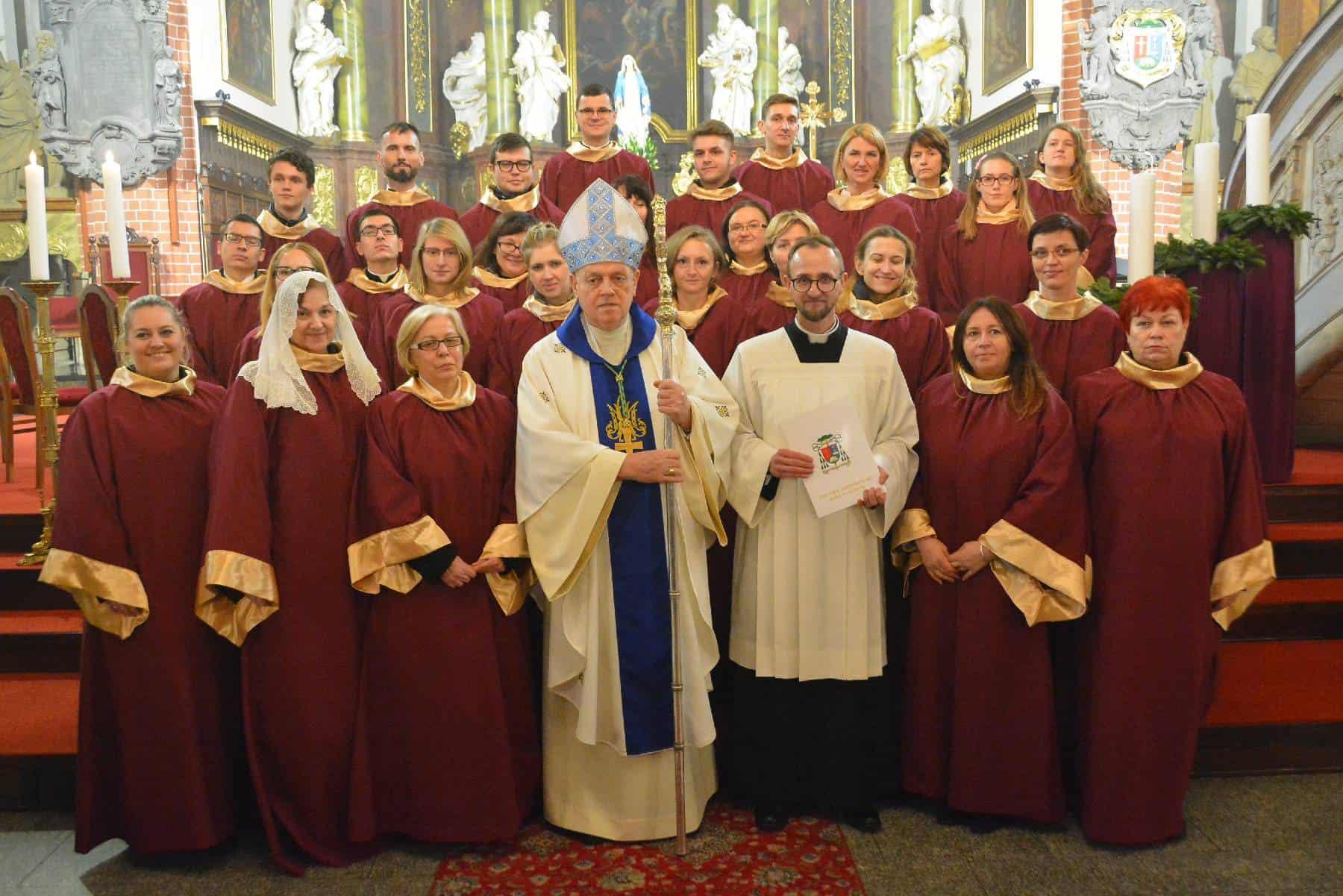 Inauguracja Chóru Katedralnego Diecezji Legnickiej
