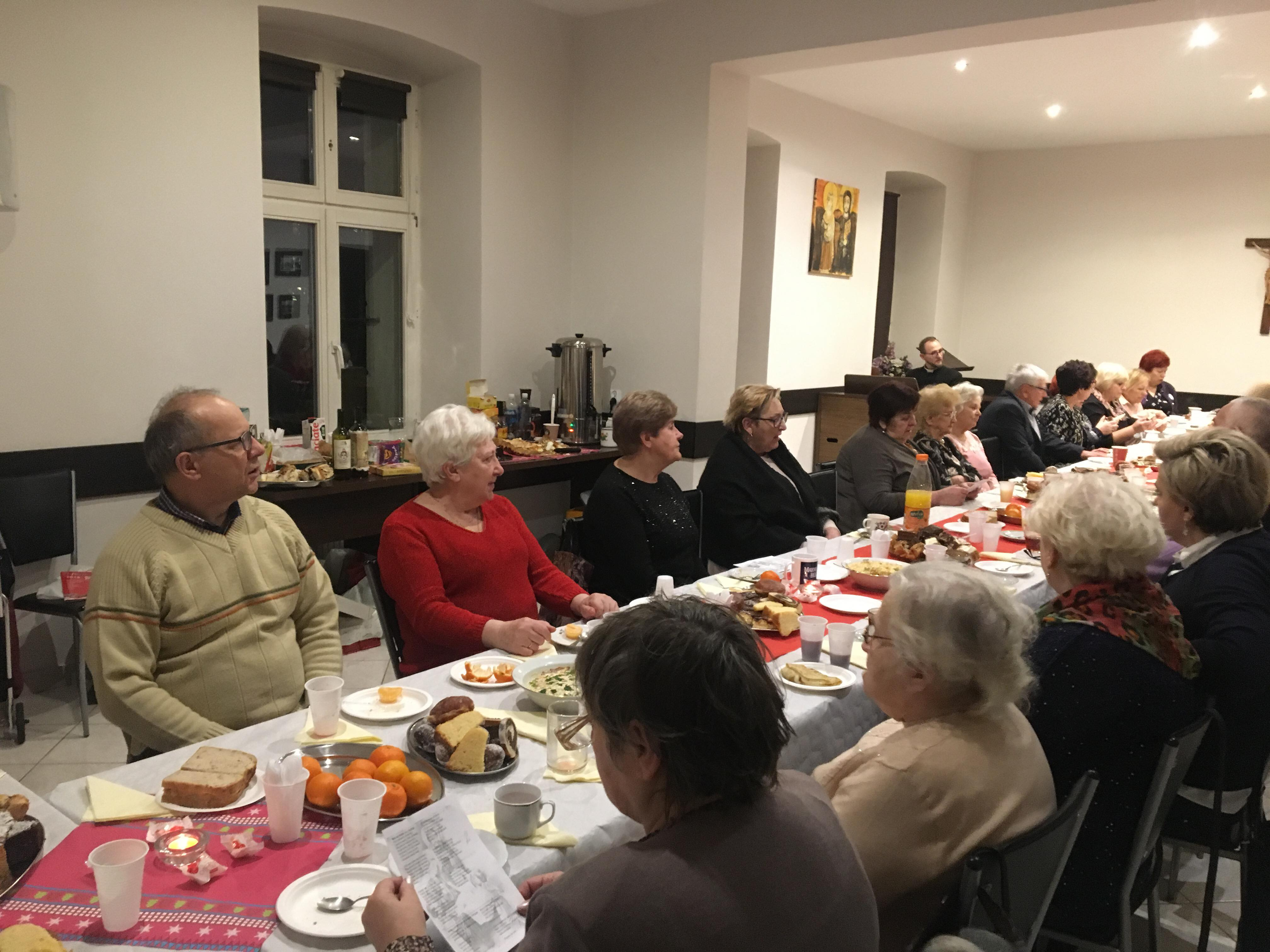 Spotkanie opłatkowe trzech wspólnot