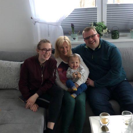 Odwiedziliśmy rodzinę Michałka Fabii