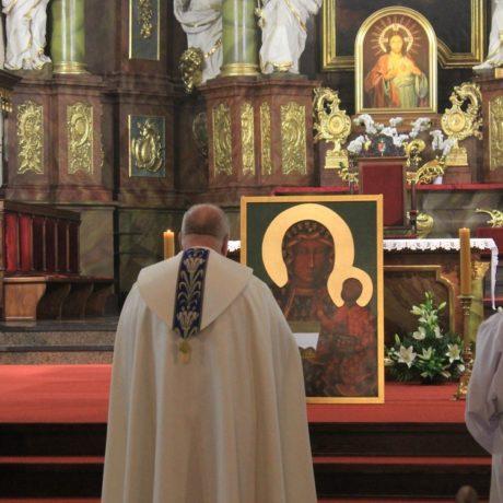 Pobłogosławienie obrazu Matki Bożej i Akatyst [FILM]