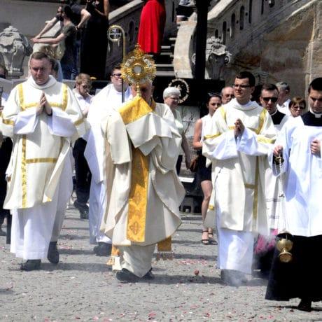 Chrystus przeszedł ulicami Legnicy
