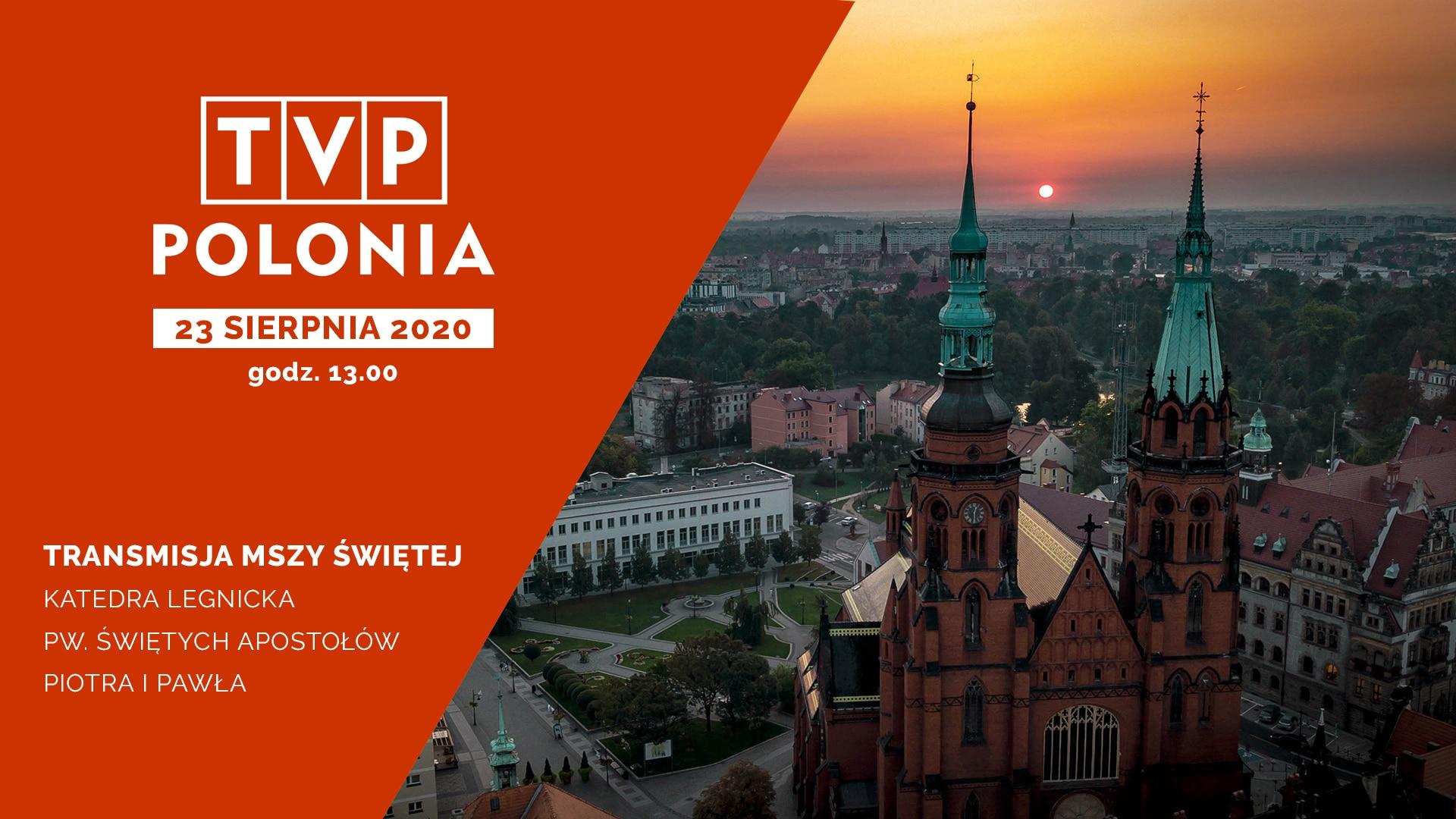 Transmisja z katedry w TVP POLONIA
